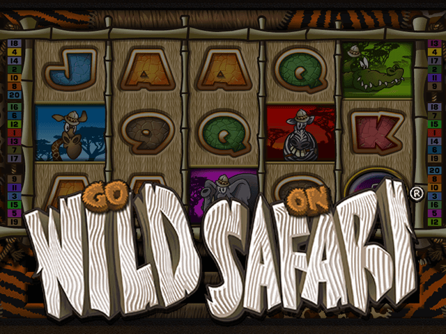 Красочный и простой по функционалу слот Go Wild On Safari